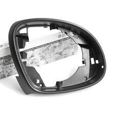 Original VW Seat Blende rechts innen Spiegelrahmen Außenspiegel satinschwarz OEM