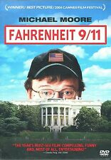 FAHRENHEIT 9/11 DVD 2004 Michael Moore-Critically Acclaimed Documentary Free S&H
