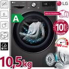 LG Waschmaschine A Frontlader 10,5 kg 1600 Umin Dampf Inverter Direktantrieb NEU <br/> 10 Jahre DD-Motor-Garantie | AquaStopp | Touch-Display