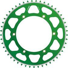 APICO REAR SPROCKET KAWASAKI KX125/250 80-08  KX250F/450F 04-16 49T GREEN (R)