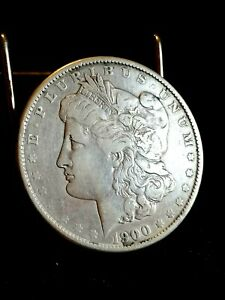 VINTAGE 1900 USA SILVER DOLLAR