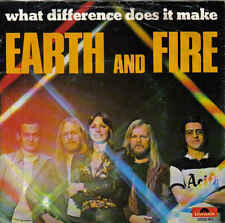 Earth and Fire-What Difference Does It Make vinyl single