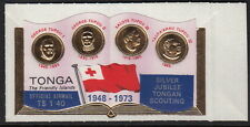 TONGA: 1973 Silver Jubilee of Scouting in Tonga OFFICIAL 1p40 on 50s SGO105 mint