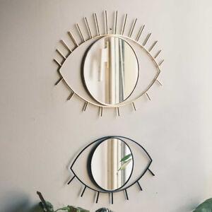 Cyclops Wandspiegel DOIY Auge Schmink Gold Spiegel Schwarz Badspiegel