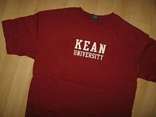 Kean University Tee - Union Hillside New Jersey College USA Cougars T Shirt XLrg