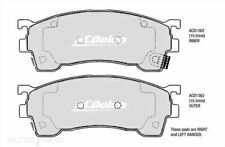 New ACDelco Front Brake Pads Ford Laser Telstar Mazda 323 ACD1362