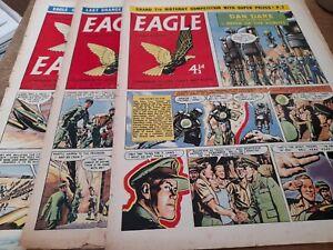 3 EAGLE COMICS 1957