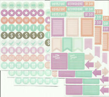 """7 sheets of Planner Stickers 3.5"""" X 5.5"""""""