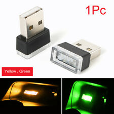 Mini USB Orrange LED Light Car Interior Light Neon Atmosphere Ambient Light Lamp