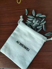 Ai Weiwei Porcelain Sunflower Seeds LONDON TATE MODERN 100 pc free linen bag