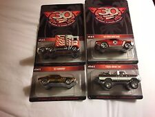 2016 Hot Wheels 30th Convention Camaro Thunder Roller Texas Drive Mustang 4SET
