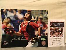 LOU MARSON Autograph Signed 8x10 Photo Cleveland Indians MLB Baseball COA