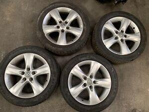 "x4 Vauxhall Astra J 09-15 5x105 0P042 5 SPOKE 17"" INCH Alloy Wheels Diesel 1.7"