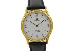 Vintage Omega De Ville Cal.1365 Quartz Gold Plated Midsize Watch 1956