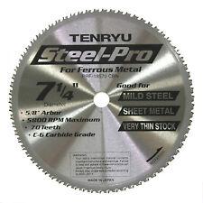 "Tenryu PRF-18570CBN STEEL-PRO 7-1/4"" Steel Cutting Carbide Tipped Saw Blade"