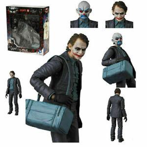 Mafex NO 015 The Joker Dark Knight Model Action Figure Collect Medicom Toy 6''