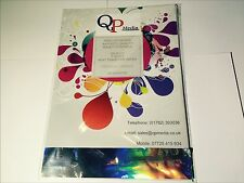 PREMIUM GRADE A4 IRON ON T SHIRT HEAT TRANSFER PAPER DARK FABRICS (10 SHEETS)