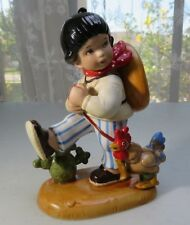 Vintage handpainted porcelain