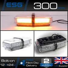 Britax A101 LED Amber Mini Single Bolt Light Bar 12v / 24v Strobe Beacon