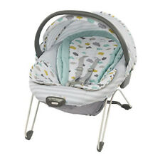 Graco Glider Elite In Clouds 2-in-1 Gliding Swing & Bouncer Seat With 10 Melodie