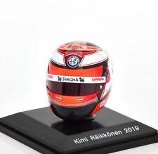 Spark Models HSP045 1/8 Scale 2019 Kimi Raikkonen Alfa Romeo F1 Model Helmet