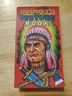 Vintage Colorful illustrated Transfer picture book cover art Indian Chief 1950s