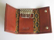 PORTACHIAVI A BOTTONE IN PELLE - COL. MARRONE - ART. 3390 104