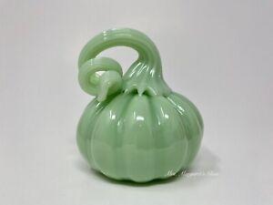 Mosser Glass Jadeite Pumpkin