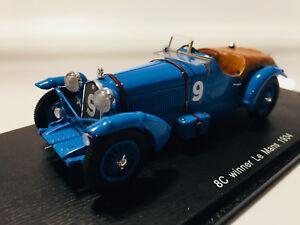 Spark Alfa Romeo 8C Winner 24h Del Mans 1934 1/43 S43LM34