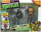 Teenage Mutant Ninja Turtles Mutations Raphael & Ground Pounder Battle Shell New