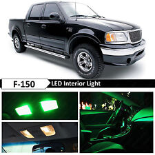 16x Green Interior LED Lights Package Kit for 1997-2003 Ford F150 F-150