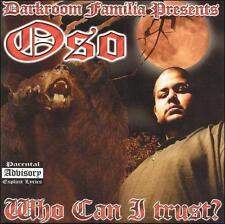 Oso: Who Can I Trust  Audio CD