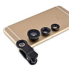new for iPhone 5G 4S 4 i9300 3in1 Fish Eye + Wide Angle Micro Lens Camera Kit