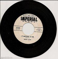 BUDDY LOWE - EDDIE COCHRAN . 1960 TEEN ROCK PROMO 45...  IT HAPPENED TO ME
