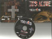 TECH N9NE It's alive ACAPELA & INSTRUM PROMO CD single Insane Clown posse nine 9