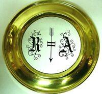 Lentille de balancier émail clock pendulum antik neuchateloise uhr cartel no