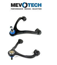 For Ford Pair Set of Front Upper Left & Right Control Arms Ball Joints Mevotech