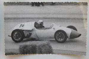 26612 Photo Unknown Racer Um 1962 Diver Sport Racing Car