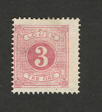 SWEDEN-MH  STAMP - 3 ore -POSTAGE DUE -1874.