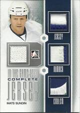 2013-14 ITG Used Complete Jerseys Silver #CJ12 Mats Sundin Maple Leafs