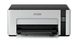 Epson M1120 Monochrome Wi-Fi Ink Tank Printer Compact (Black & White)100V~240V