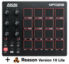 Akai MPD218 - MIDI USB Pad Controller *Free Reason Lite Software - Limited Time*