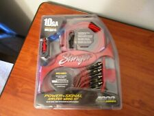 Stinger 10 Gauge 4000 Series Car Audio Amplifier Installation Wiring Kit│Sk46101