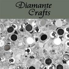1000 Diamante Loose Flat Back Rhinestone Gems Nail Body Craft Sizes 1mm - 5mm Mixed Colours 3mm