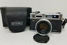 Yashica Electro 35 Gsn Rangefinder Camera Yashinon Dx 45mm F/1.7 Lens Tested