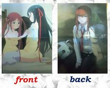 Unbreakable Mashine Doll / STEINS;GATE poster Japanese Anime sexy Chris