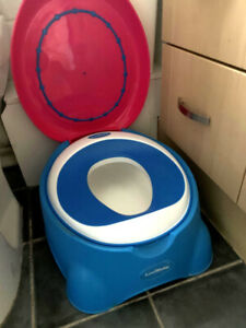 LUVDBABY Luxury Potty - Baby Training Stable Step - High Quality - Rarely Used