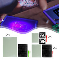 A3/A4/A5 Light Drawing Writing Board Artist Message Pad Creative Kids Gifts