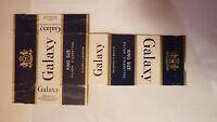 OLD AUSTRALIAN CIGARETTE PACKET LABEL, GALAXY BRAND KING SIZE