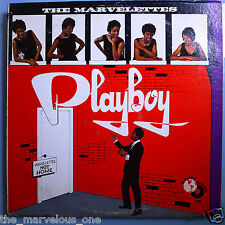 "MARVELETTES~ ""PLAYBOY""~""EXCELLENT""~ 1962 T-231 U.S.1st.Press""~""WHITE""~LP!!!"